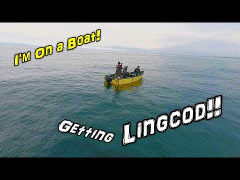Fishing On A Boat For Lingcod And Rockfish With Drone Footage!
