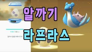 포켓몬GO 10Km 알에서 레전드 라프라스 S급 홍수몬 나옴! | 훈토이TV