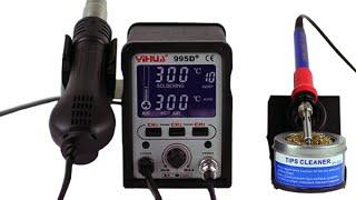 Видео-обзор Yihua 995D+ Rework Station от Electronoff
