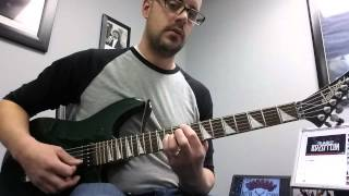 How to Play Four Sticks by Led Zeppelin Guitar Lesson Tutorial