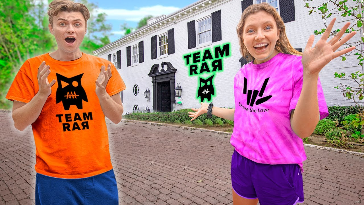 Download Surprising CARTER SHARER at TEAM RAR HOUSE *First Time* (is he excited to see me..?)