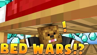 FIRST EVER BED WARS GAME! - Minecraft Mini Game (BED WARS)