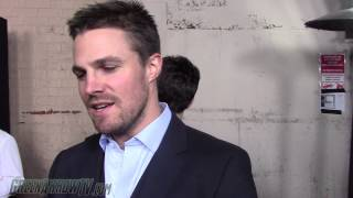stephen amell on the flash arrow crossover part 2