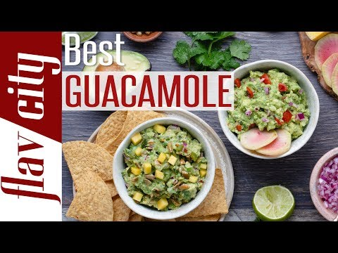 Two Ways To Make The Best Guacamole Ever