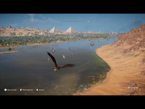 Assassin´s Creed Origins - Gameplay 89 Fondeadero - Corona de akhet - Campamento Agrophylake