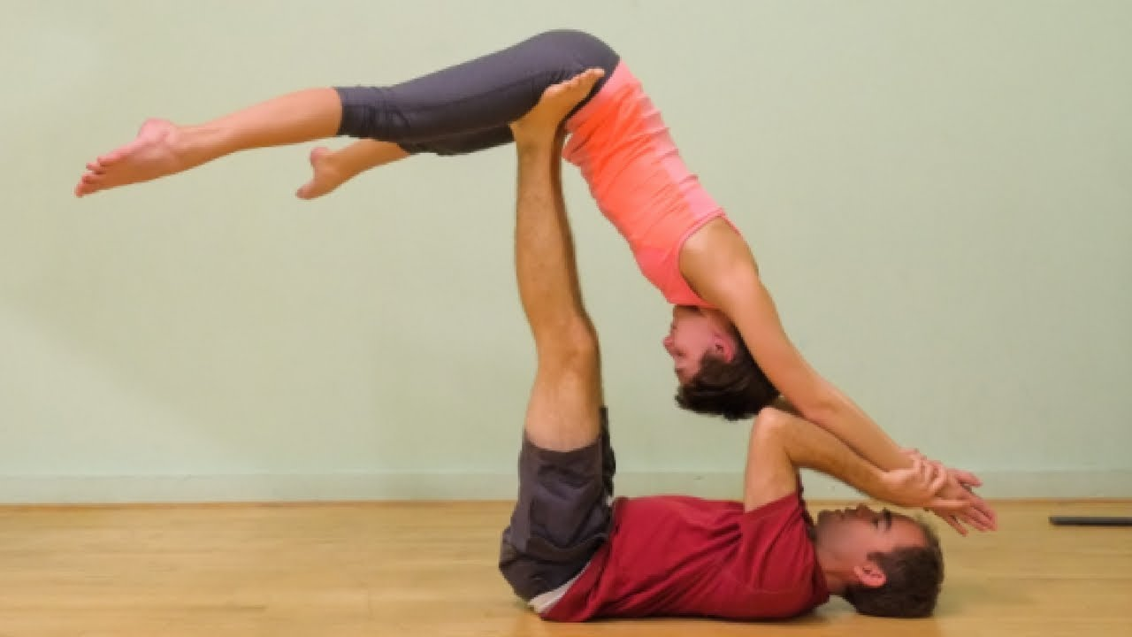 Beginner Two Person Yoga Challenge Poses