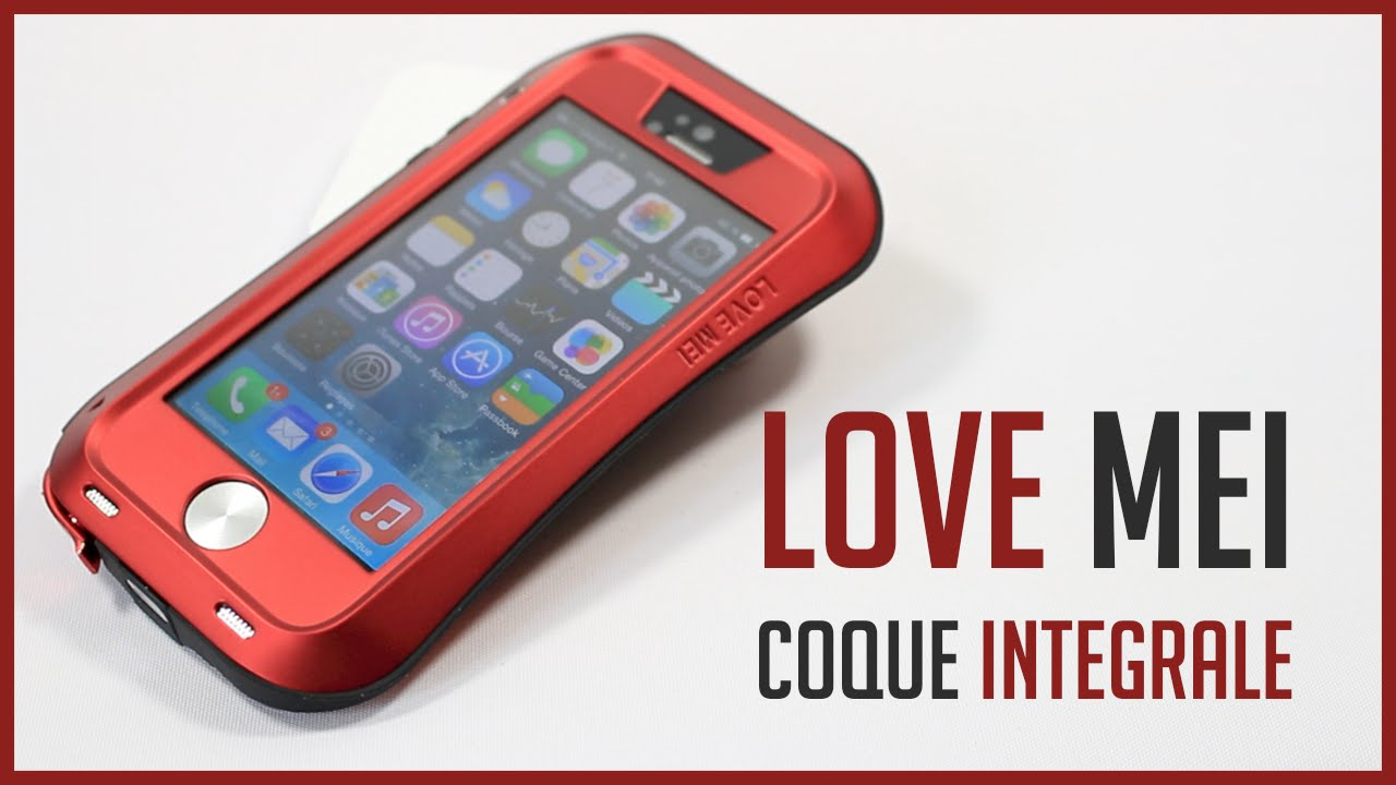 coque love mei iphone 7 plus