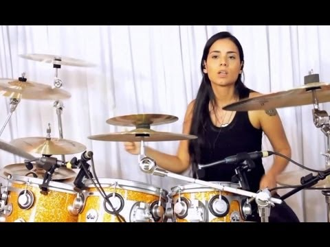 Patricia Teles Drum Solo (Moby Dick - Led Zeppelin)