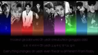 EXO LOTTO Hangul Romanization English Color Picture Coded HD