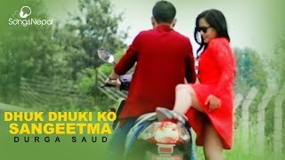 Video Dhuk Dhuki Ko Sangeetma - Durga Saud | New Nepali Pop Song 2017 download MP3, 3GP, MP4, WEBM, AVI, FLV November 2017