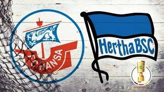Pressekonferenz vor dem DFB-Pokalspiel gegen Hertha