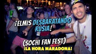 ELMIS DESBARATANDO EL FAN FEST EN SOCHI | Mundial Rusia 2018