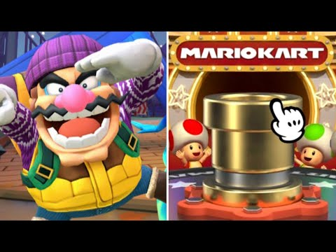 Mario Kart Tour - How Many Pulls For Wario (Hiker)? (Vancouver Pipe 2)