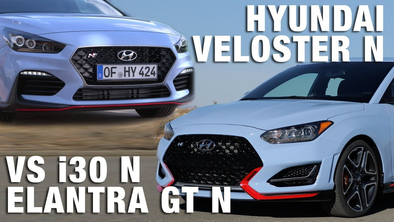 2019 hyundai veloster n vs elantra gt n i30 n practically identical youtube
