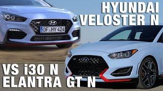 2019 Hyundai Veloster N vs Elantra GT N (i30 N) - Practically identical