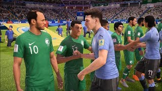 2018 FIFA World Cup Russia - Uruguay vs Saudi Arabia - Gameplay (HD) [1080p60FPS]
