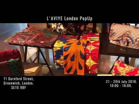 L'AVIYE London PopUp: African Clothing Store UK, African Dresses, African Skirts and more!