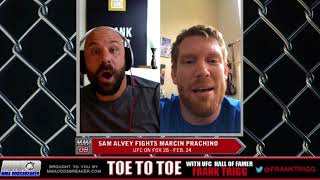 Frank Trigg pre-fight interview with UFC Orlando's Sam Alvey