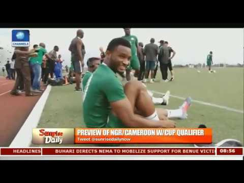 Previewing Of NGR/Cameroon World Cup Qualifier Pt.2 |Sunrise Daily|