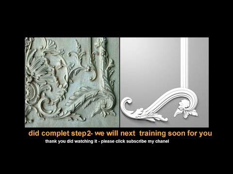 3ds Max - Tutorial - 3D CLASSICAL _Flower- Step 02