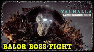 Balor Boss Fight AC Valhalla Wrath of the Druids (Gae Bolg Mythical Spear Reward)