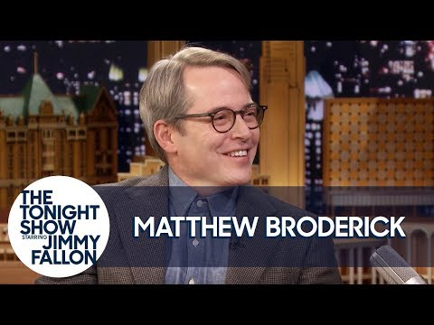 Matthew Broderick and Jimmy Get Lost in Each Other's Eyes Mid-Interview