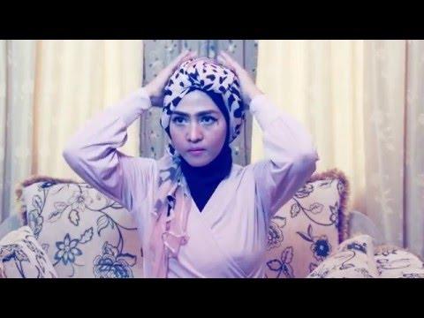Tutorial hijab pashmina kashmir wajah bulat youtube   hijab.