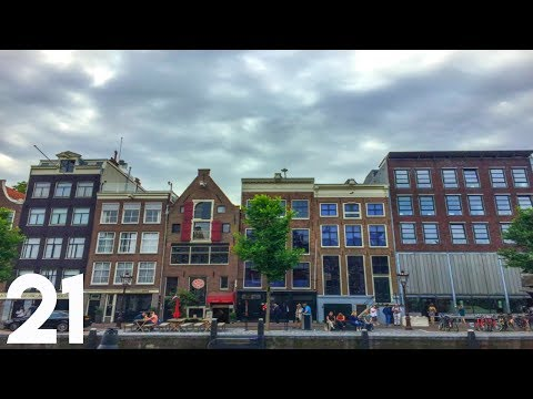 VISTING ANNE FRANK HOUSE IN AMSTERDAM