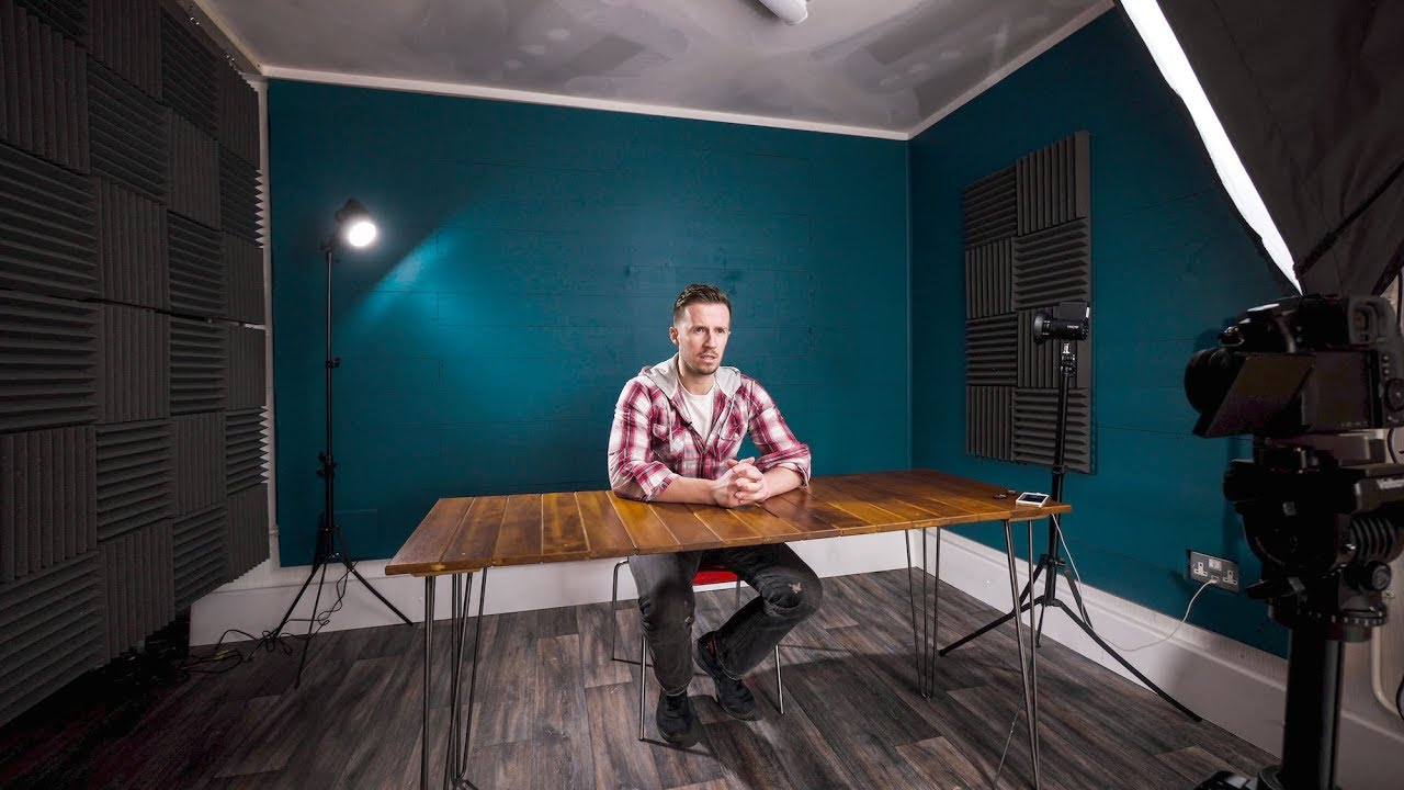 How To Build A Quality Diy Home Youtube Studio Setup Youtube
