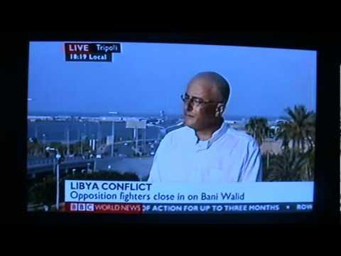 Issam Hajjaji on BBC World & News Channel 4.9.2011