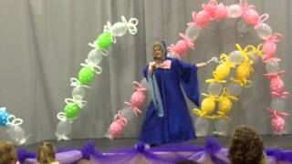 Lanie as the Fairy Godmother