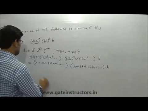 065 | Examples of Regular Language and Regular Expressions in automata theory (Concepts, Tricks)