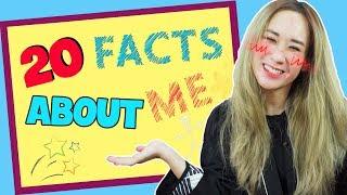 20 SỰ THẬT VỀ MÌNH 😎 | 20 FUN FACTS ABOUT ME | HƯƠNG WITCH