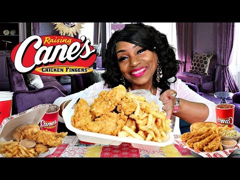 Blove Tries Raising Cane's for the first time