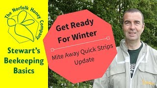 Varroa Treatment Mite Away Quick Strips Update