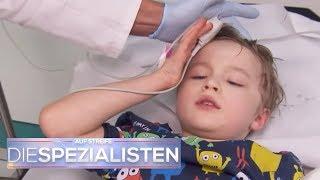 Milan in Bach gefallen: Plötzlich sieht er schlecht & hat Kopfschmerzen! | Die Spezialisten | SAT.1