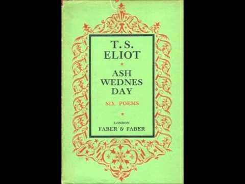 ash wednesday eliot # 5