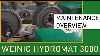 Maintenance and Features on the Hydromat 3000 by Weinig (Live 10/15/20)