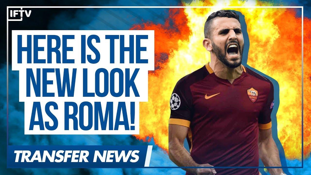 RIYAD MAHREZ • AS ROMA MAKE OFFICIAL OFFER TO LEICESTER CITY • Serie A  Transfer News - YouTube