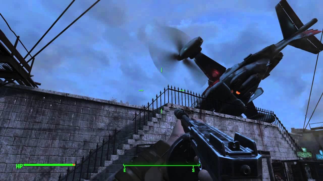 fallout 4 vertibird game crash