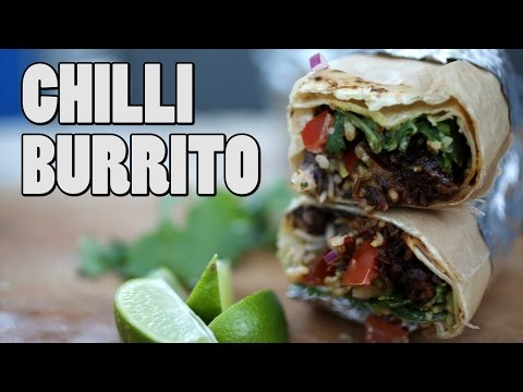 CHILLI BURRITO RECIPE