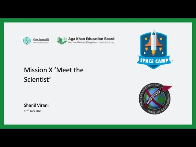 Mission X: Meet the Scientist - AKEB