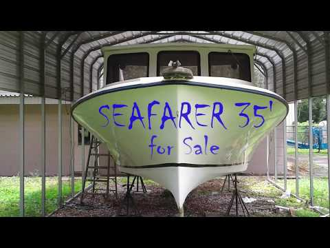 35ft Commercial Fishing Boat Or Dive Boat For Sale