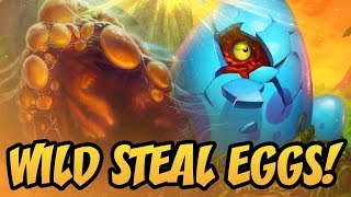 Wild Steal Eggs!   Saviors of Uldum   Hearthstone