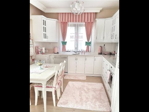 جولة في مطابخ تركية باللون الأبيض أفكار وحيل روعة لتصميم مطبخ دارك أول مرة على اليوتيوب Youtube