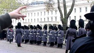 14/11/2010: REMEMBRANCE SUNDAY PARADE: Whitehall Cenotaph.