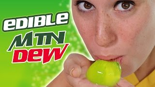 EDIBLE MOUNTAIN DEW - Test Kitchen