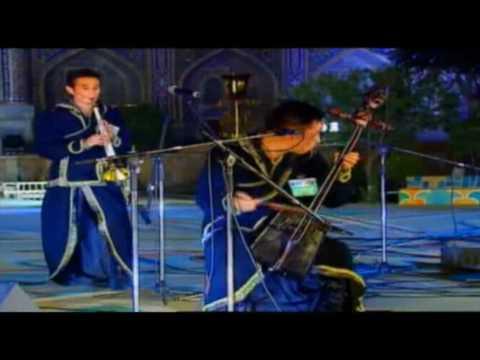 Altan Urag Performance @Samarqand, Uzbekstan