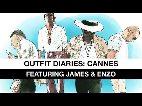 Outfit Diaries: Cannes (Featuring James & Enzo)