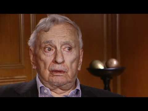 Gore Vidal Interview -- Academy of Achievement, 2006 (1 of 25)